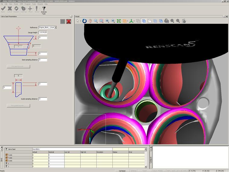 Modus Software fro Renishaw